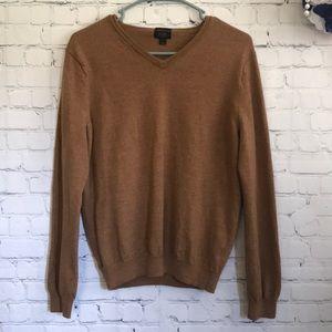 J. Crew Slim merino wool V-neck sweater
